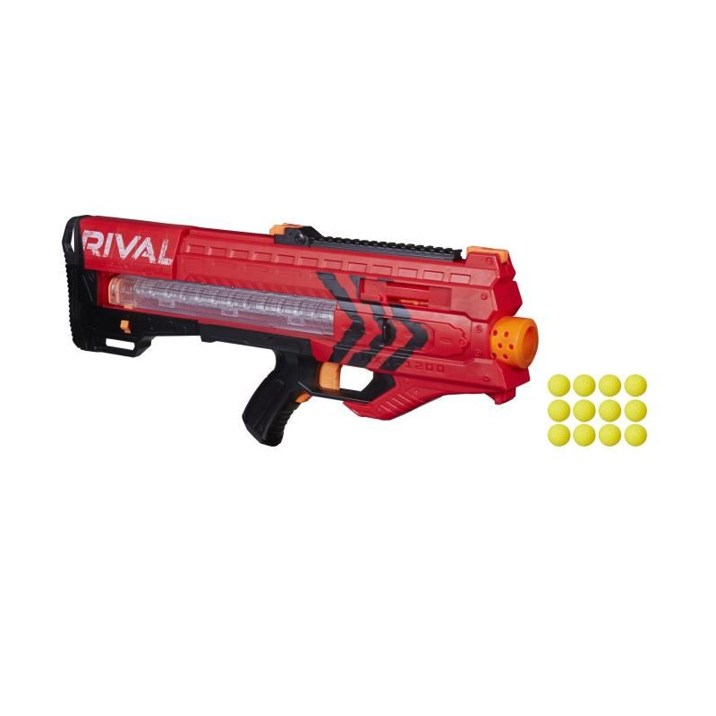 size 40 54f73 68455 NERF RIVAL Zeus MXV-1200 Blaster Rouge ...