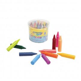 CRAYOLA 24 maxi crayons a la cire