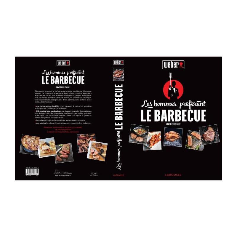 WEBER-Livre-de-recettes-034-Les-hommes-preferent-le-barbecue-034 miniature 2