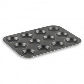 TEFAL SUCCESS Moule a 12 Muffins J1602802 30x23 cm marron