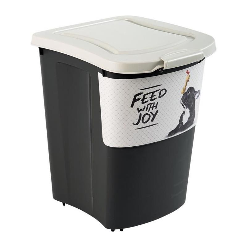 ROTHO-Container-a-croquettes-verseur-Archies-avec-pelle-38-L-Pour-chien-et-cha