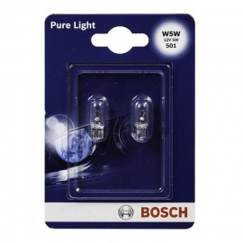 BOSCH Ampoule Pure Light 2 W5W 12V 5W
