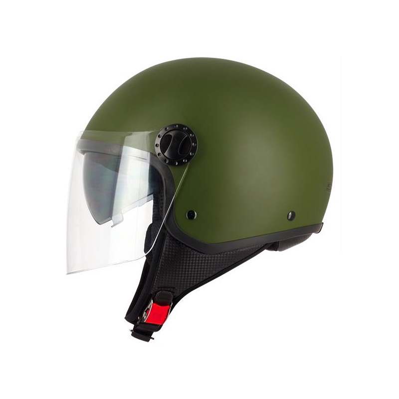 Casque-Jet-R-FULLY-S706-Double-Visiere-Green-Army-Taille-L