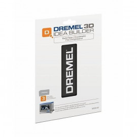 DREMEL lot de 3 films d'impression pour 3d20