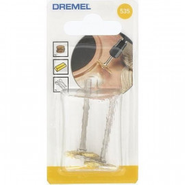 DREMEL lot de 2 brosses laiton couronne
