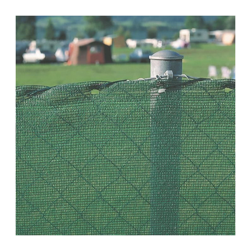WINDHAGER-Brise-vue-HDPE-1-2-x-10-m-150-g-m-Stable-aux-UV-Vert miniature 2