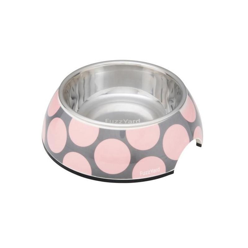 FUZZYARD-Gamellel-Pink-Bubblelicious-L-16-5-x-7-5-cm-Pour-chien
