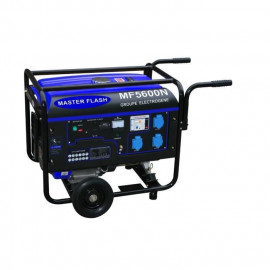 MASTER FLASH Groupe électrogene a essence 5500W avec kit chariot MF5600N