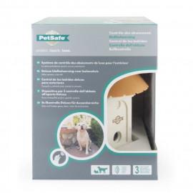 PETSAFE Systeme anti-aboiement extérieur a ultrason Deluxe - Pour chien