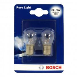 BOSCH Ampoule Pure Light 2 P21/5W 12V 21/5W