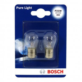 BOSCH Ampoule Pure Light 2 P21W 12V 21W