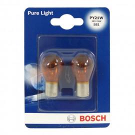 BOSCH Ampoule Pure Light 2 PY21W 12V 21W