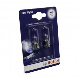 BOSCH Ampoule Pure Light 2 H6W 12V 6W