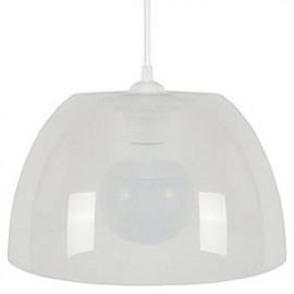 PLEXI Suspension  25 cm plastique blanc