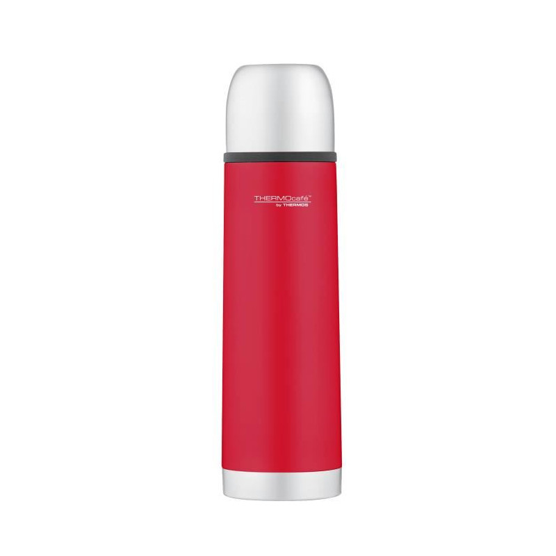 THERMOS-Soft-touch-bouteille-isotherme-0-5L-Rouge