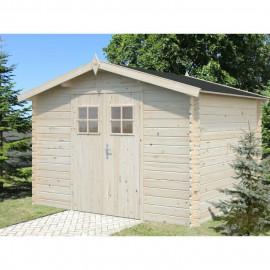 WHITEWOOD Abri de jardin bois Paris II 7,8m²- Sapin FSC -279x279cm