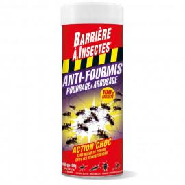 BARRIERE A INSECTES Anti-fourmis poudrage et arrosage - 400 g + 100 g gratuits