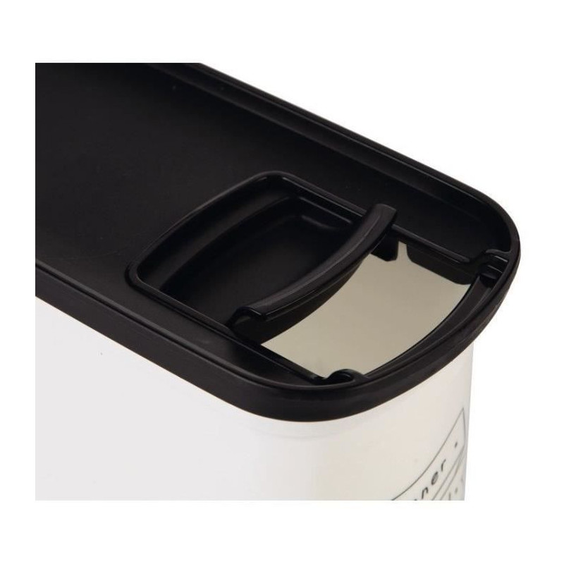 CURVER-Conteneur-de-nourriture-Le-Diner-est-servi-1-kg-2-L-Blanc-et-noir miniature 2