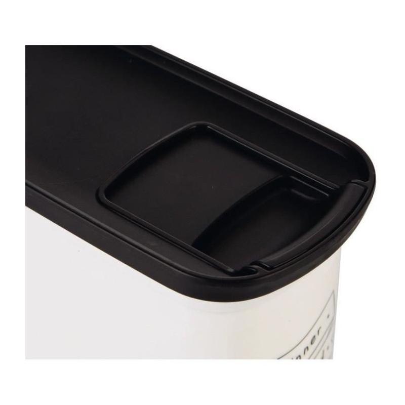 CURVER-Conteneur-de-nourriture-Le-Diner-est-servi-1-kg-2-L-Blanc-et-noir miniature 3