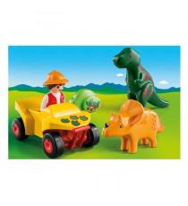 PLAYMOBIL 9120 - Explorateur et dinosaures