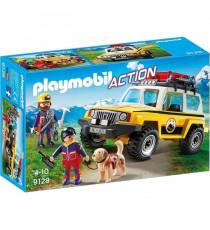 PLAYMOBIL 9128 - Secouristes des montagnes avec véhicule