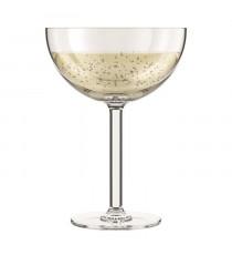BODUM - OKTETT - 4 Coupes a Champagne en plastique - Incassable - Réutilisable - 0.28l