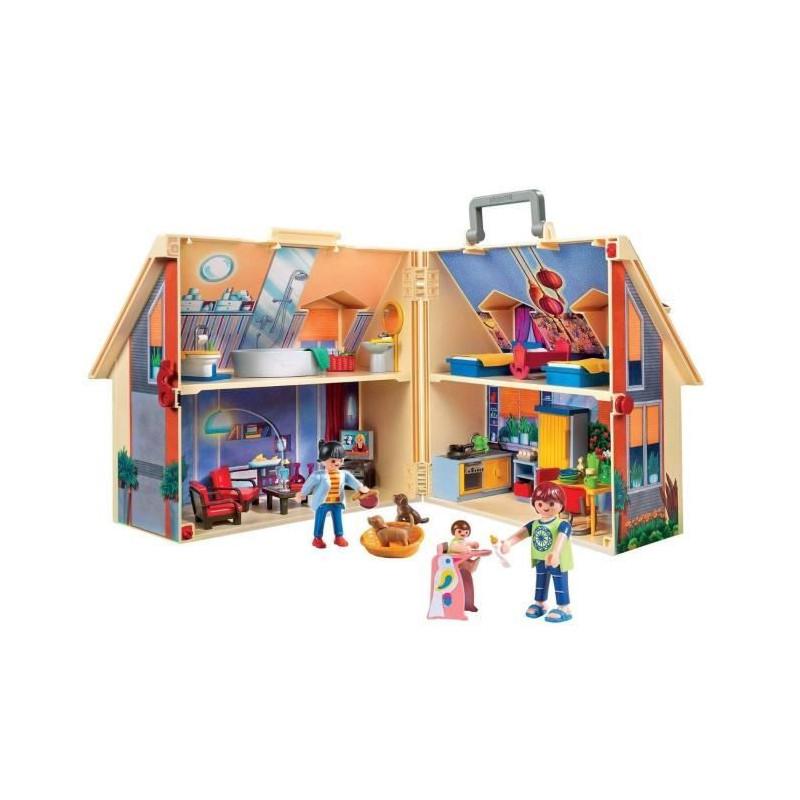 playmobil serrure de maison transportable   4142 4440 4398 4145 4043 5167