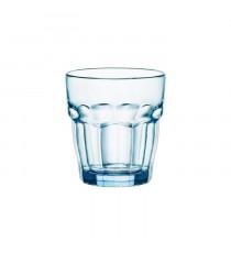 BORMIOLI Lot de 6 verres gobelets rock bar Lounge 27 cl bleu