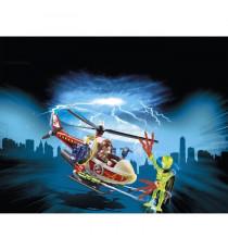 Nouveauté 2018 - PLAYMOBIL 9385 - Ghostbusters Edition Limitée - Venkman avec Hélicoptere