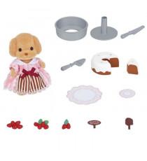 SYLVANIAN FAMILIES 5264 - Coffret Patisserie Et Figurine