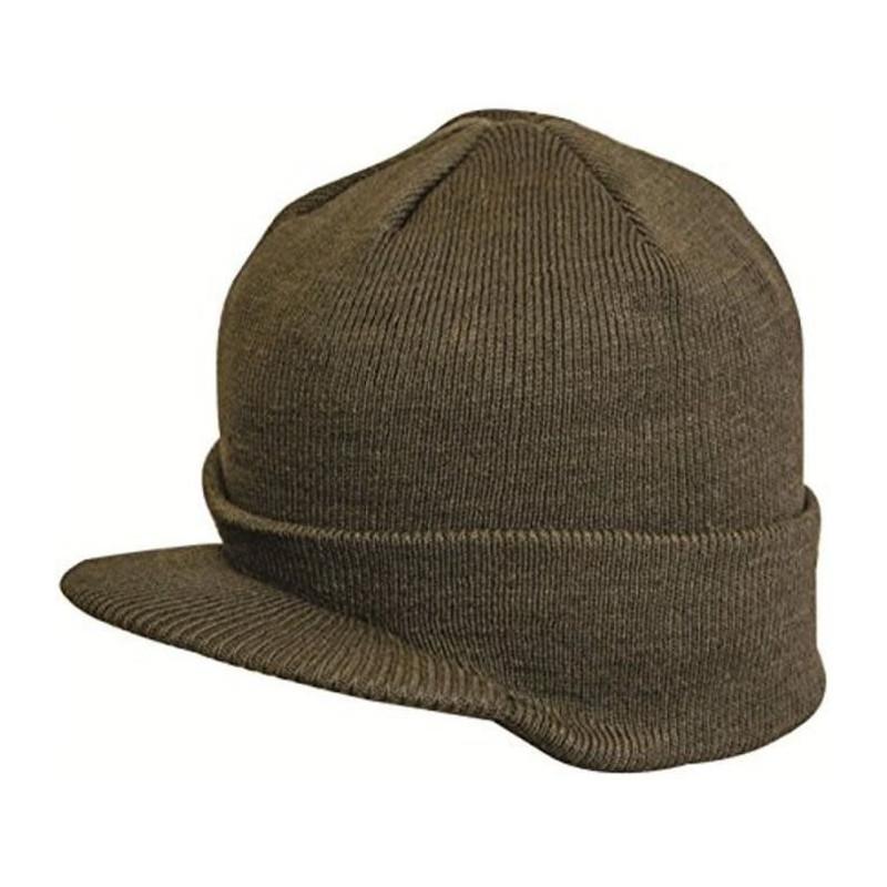 HIGHLANDER-Bonnet-Visiere-Vert