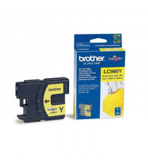 Brother LC980Y Cartouche d'encre Jaune