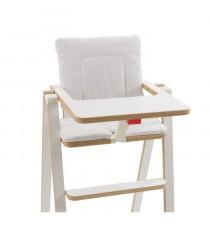 SUPAFLAT Coussin de chaise haute vanilla marshmallow