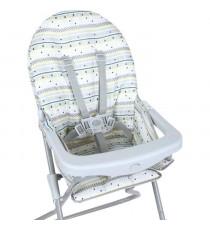 TROTTINE Chaise haute Kelvin grafik - Mixte