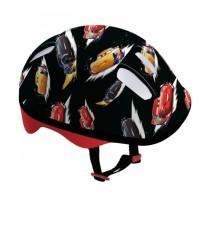 DISNEY CARS Set de protections avec casque et sac en PVC pour enfant