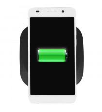 Socle Chargeur Sans Fil Induction Qi pour Smatphone - Noir - Bigben Smart