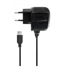 XQISITChargeur secteur Basic Line 2A micro USB - Noir