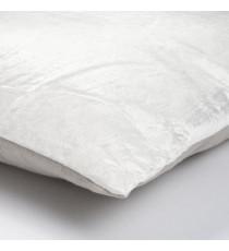 Coussin bicolo - 38 x 38 cm - Blanc