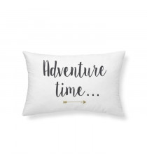 TODAY Coussin - Gold is Black - Adventure Time - 30x50cm - Blanc Velours