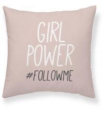 TODAY Coussin Girl Power Follow - 40 x 40 cm