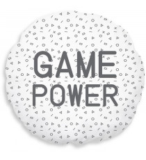 TODAY Coussin Geek Game Power - Ø40 cm
