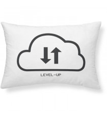 TODAY Coussin Geek Game Level-Up - 30 x 50 cm