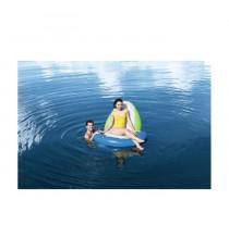 BESTWAY Fauteuil et accessoires Lounge SIT -N-SUN - 150 x 140 cm