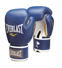 EVERLAST Gants de boxe Thai - Bleu - 12 Oz