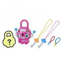 LOCK STARS Série 1 - Pink Round Robo - Mini Figurines a collectionner