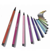 STABILO 8 feutres de dessin Pen 68 Living colors - Décor joyeux