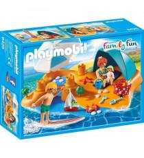 PLAYMOBIL 9425 - Family Fun - Famille de vacanciers et tente - Nouveauté 2019