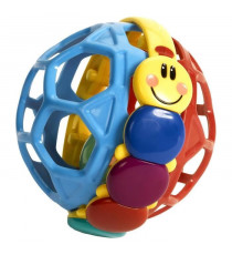 BABY EINSTEIN Balle hochet chenille Bendy Ball? - Multi Coloris