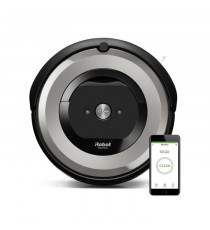 IROBOT Aspirateur robot connecté ROOMBA E5154 - Batterie 1800 mAh Lithium Ion - 0,6 L