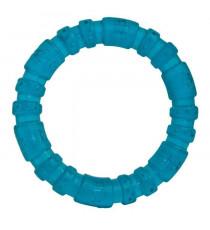 ROSEWOOD Jouet en forme d'anneau 3 1/2'' - Bleu - Pour chiot